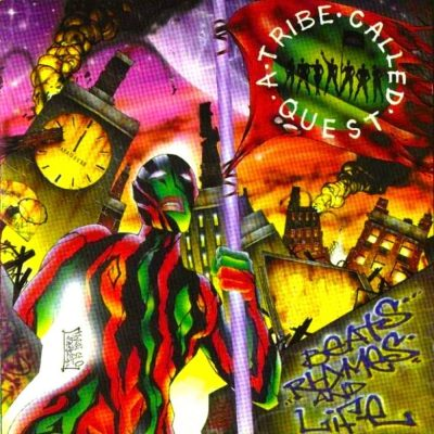 A Tribe Called Quest - 1996 - Beats, Rhymes and Life (Vinyl 24-bit / 96kHz)