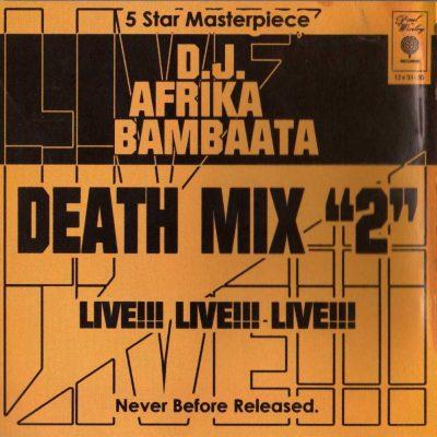 Afrika Bambaataa - 1983 - Death Mix 2 (1997-Reissue)