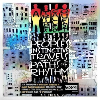 A Tribe Called Quest - 1990 - People's Instinctive Travels and the Paths of Rhythm (25th Anniversary)