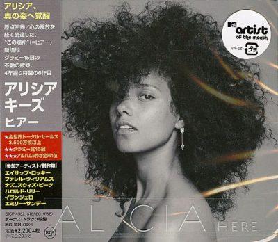 Alicia Keys - 2016 - Here (Japan Edition)