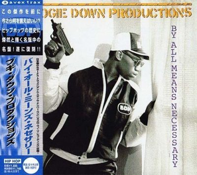Boogie Down Productions - 1988 - By All Means Necessary (1997-Reissue Japan)