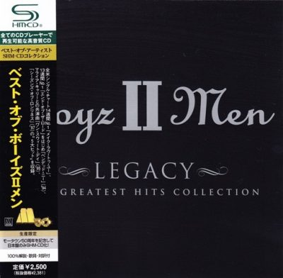 Boyz II Men - 2001 - Legacy: The Greatest Hits Collection (2009-Japan Edition)