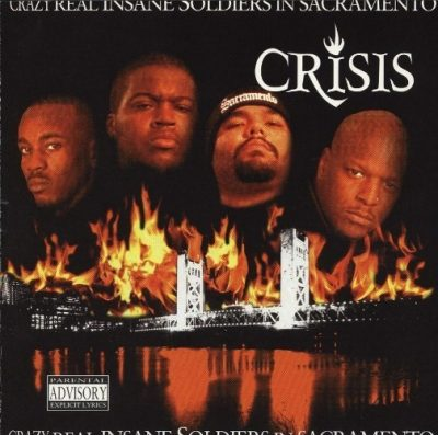 C.R.I.S.I.S. - 1996 - Crazy Real Insane Soldiers In Sacramento