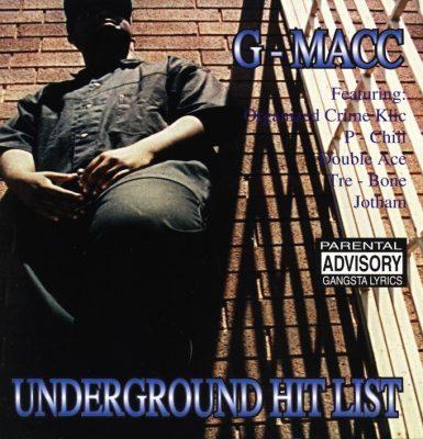 G-Macc - 1995 - Underground Hit List