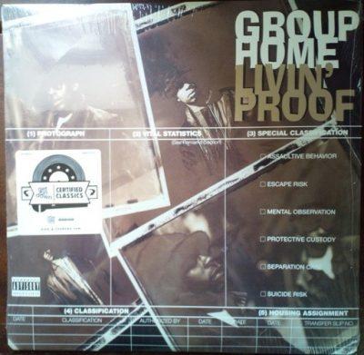Group Home - 1995 - Livin' Proof (2017-Reissue) (Vinyl 24-bit / 96kHz)