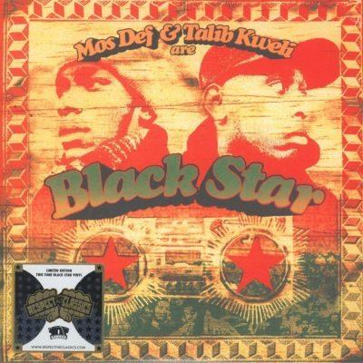 Mos Def & Talib Kweli - 1998 - Black Star (2014-Limited Edition) (Two Tone Black Star Vinyl) (Vinyl 24-bit / 96kHz)