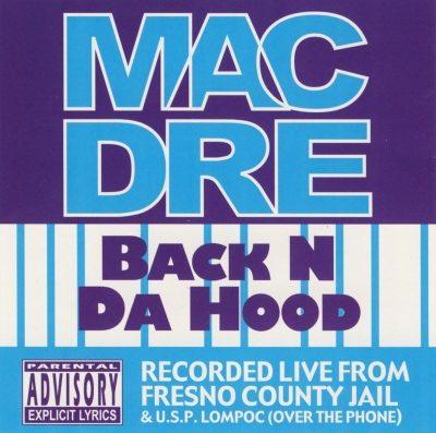Mac Dre - 1992 - Back N Da Hood EP