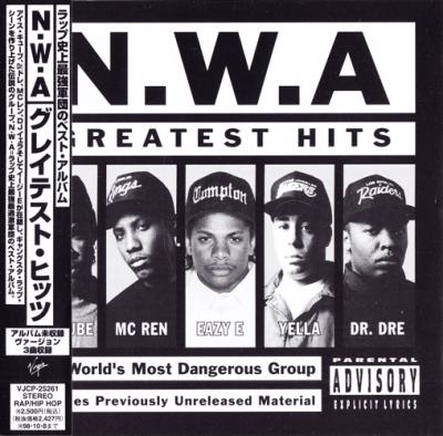 N.W.A. - 1996 - Greatest Hits (Japan Edition)
