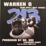 Warren G – 1999 – Game Don't Wait Remix (CD Single)