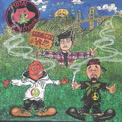 Total Devastation - 1993 - Legalize It!