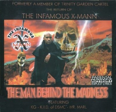 The Infamous X-Mann - 1998 - Man Behind The Madness