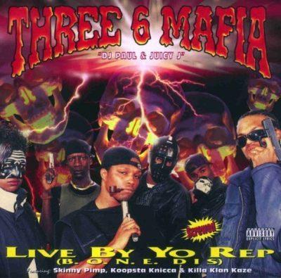 Three 6 Mafia - 1995 - Live By Yo Rep EP